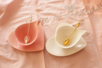 Coffee Cup Compatible With Nespresso Coffee Milk Tea Cup Mug Free Shipping Heart Shaped Water Cup