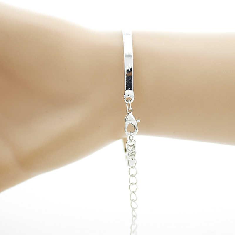 TAFREE New Arrival Yoga Mandala Bracelets Indian Style Cuff Bracelet Simple Design Glass Cabochon Accessories Souvenir HN338