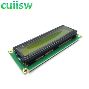 Image 2 - 10PCS LCD1602 1602 module Green screen 16x2 Character LCD Display Module Controller blue blacklight