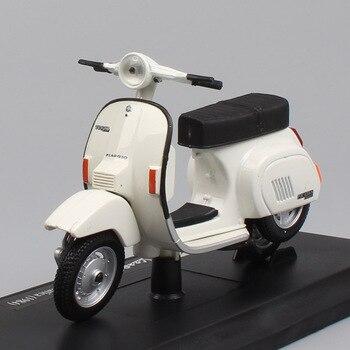 Maisto-motocicleta miniatura para niños, modelo de juguete a escala 1:18, tamaño 125, PK 1984