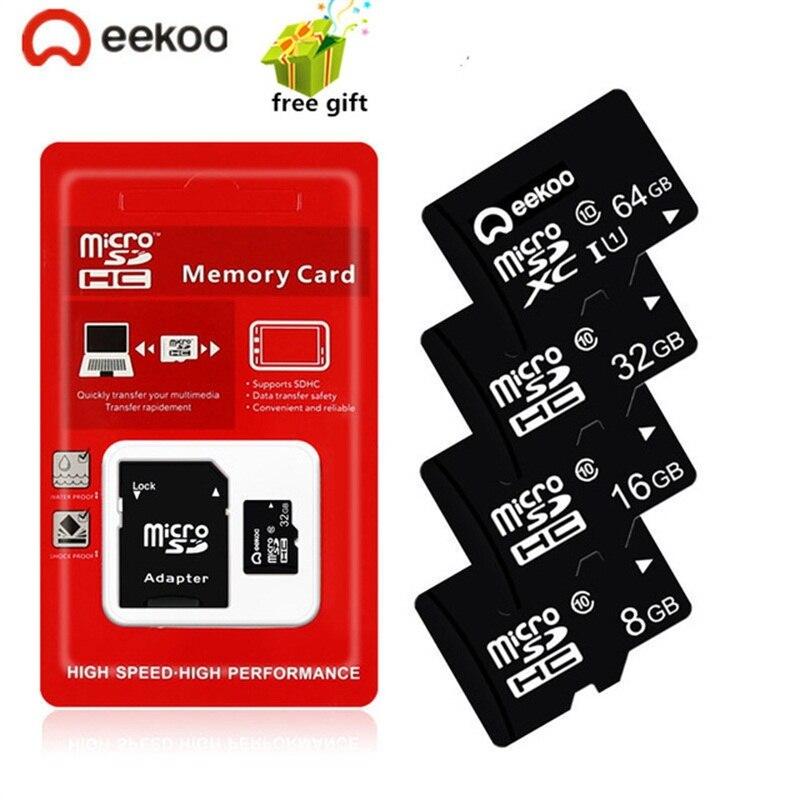 4 gb 8 gb 16 gb 32 gb tarjeta מיקרו SD כרטיס זיכרון כרטיס עבור טלפון/Tablet cartao דה memoria microsd 64 gb 128 gb class 10 פלאש כרטיס