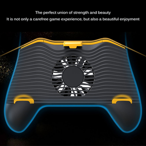 Image 5 - Powstro Phone Gamepad Holder With Cooling Fan Mobile Phone Controller Joystick Power Band Gamepad For Pubg Phone Holder