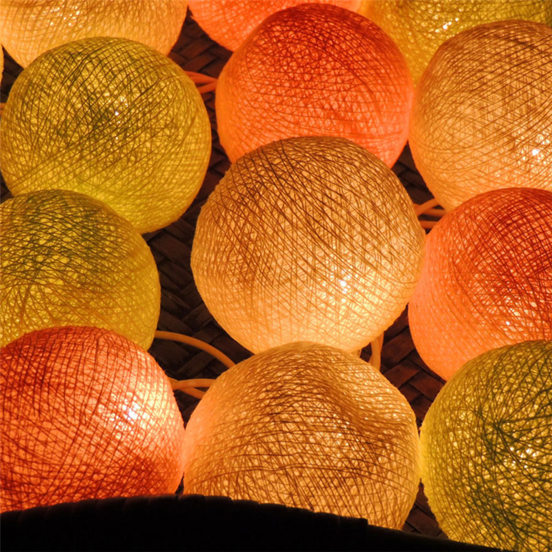 Feimefeiyou мақта шамы шамдар 110V / 220V моншақ - Мерекелік жарықтандыру - фото 3