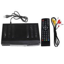 Цифровой спутниковый DVB T2 + S2 комбинированный HD ТВ Top Box тюнер приемник MPEG4 H.264 USB Plug ЕС
