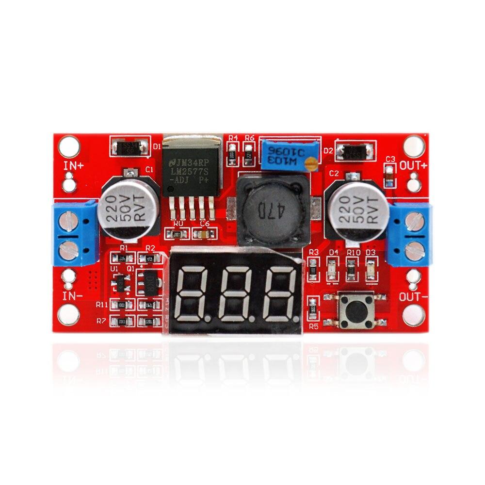 Keyes LM2577 DC-DC Step UP LED Voltmeter 3-34 to 4-35V Adjustable Booster Buck Converter Adapter Module Voltage Regulator