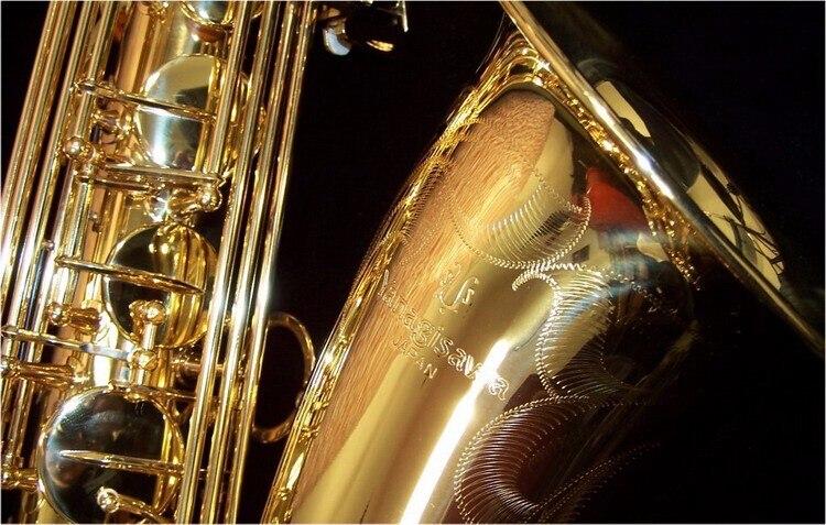 Новый Японии Янагисава T-902 бемоль тенор Bb Мелодия Sax Латунь Позолоченные Профессиональное исполнение инструменты с делом