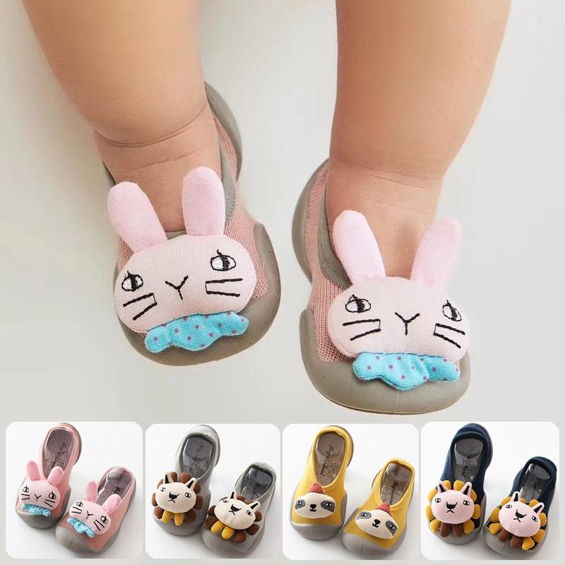 Infant Socks Anti Slip Baby Girl Baby Boy Non-slip Socks Toddler Indoor Sock Shoes Floor Socks With Rubber Soles For Slipper