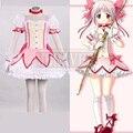 Puella Magi Madoka Magica Kaname Madoka Cosplay Costume dresses Custom Made Plus Size