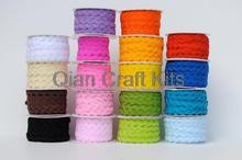 100 yards ric rac/ zig zag trim ribbon for crafting you pick color rick rack trims Ric rac Ribbon Tape ,width 5-6mm for DIY