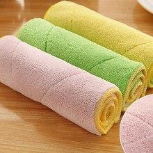 1 шт смешанные цвета полотенце для чистки автомобиля из микрофибры Кухня Стиральная ткань для чистки и полировки Прямая поставка счастливые продажи 0,341