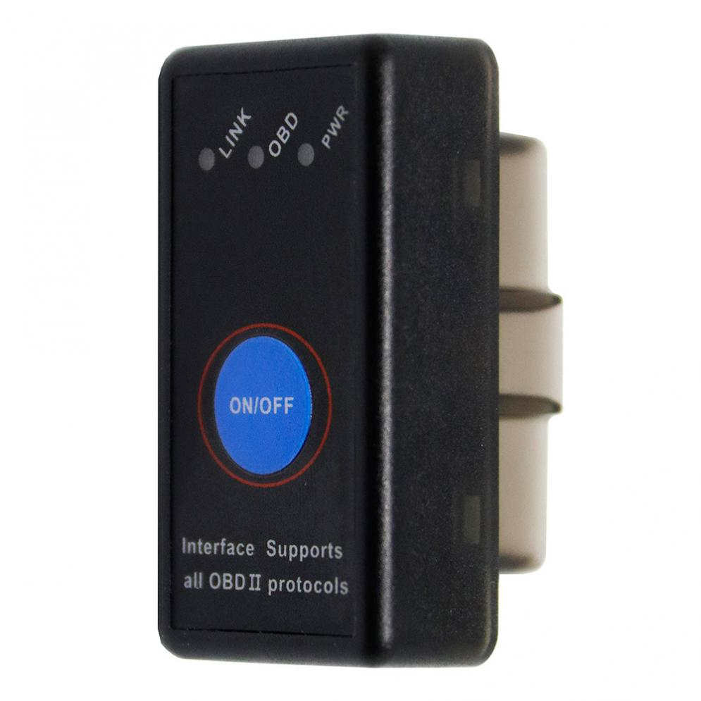 PICI8F25K80 Bluetooth4.0 v1.5 Car Mini Scanner Wireless Auto Interface Code Readers Diagnostic Tool OBDII Protocols + Switch