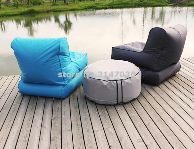 Wholesale Custom Printed Folding Beanbag Chair, Outdoor Beanbag