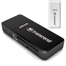 Transcend оригинальный 2 в 1 high speed usb 3.0 card Адаптер Reader Для SDHC/SDXC/microSDHC/microSDXC/UHS-I Карты ПАМЯТИ адаптер