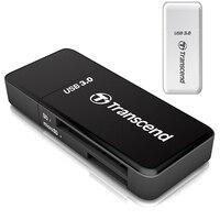 Transcend Original 2 en 1 de Alta Velocidad USB 3.0 de Tarjetas Adaptador de lector de tarjetas SDHC/SDXC/microSDHC/microSDXC/UHS-I Tarjeta de TF adaptador