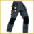 Mens workwear Mecânico Durável multi-bolso calças de trabalho cinza cinza pant trabalhando frete grátis