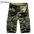black friday 2016 men's shorts Army Camouflage Coat Military short men casual cotton Multi-Pocket cargo shorts 1566