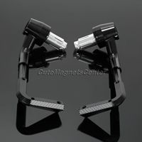 2pc CNC Motorcycle Lever Guards Protector Handlebar 7 8 22mm Brake Clutch Levers Protect Guard For