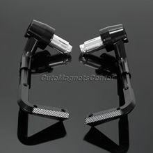 "2 unid cnc motocicleta palanca guardia protector manillar 7/8 ""22mm de freno palancas de embrague proteger guardia para honda suzuki yamaha kawasaki"