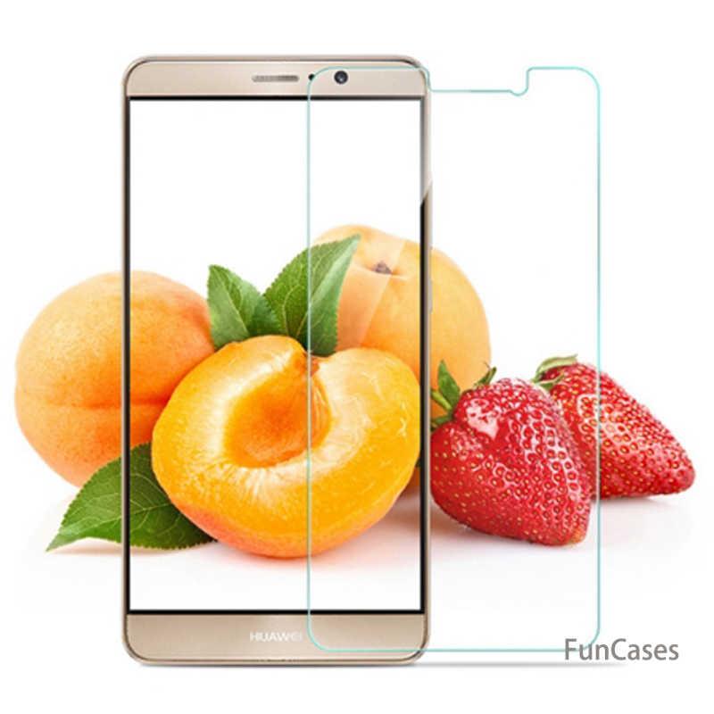 Para Huawei Y3 protectora de vidrio para Huawei Y7 Y5 Y6 Y9 Y 3 5 5 5 6 6 7 9 Pro primer 2017 2018 Protector de pantalla vidrio templado 9 H película