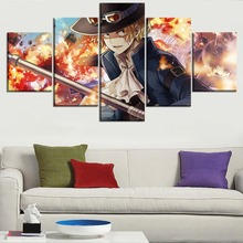 Sabo 5 Piece Canvas Wall Art