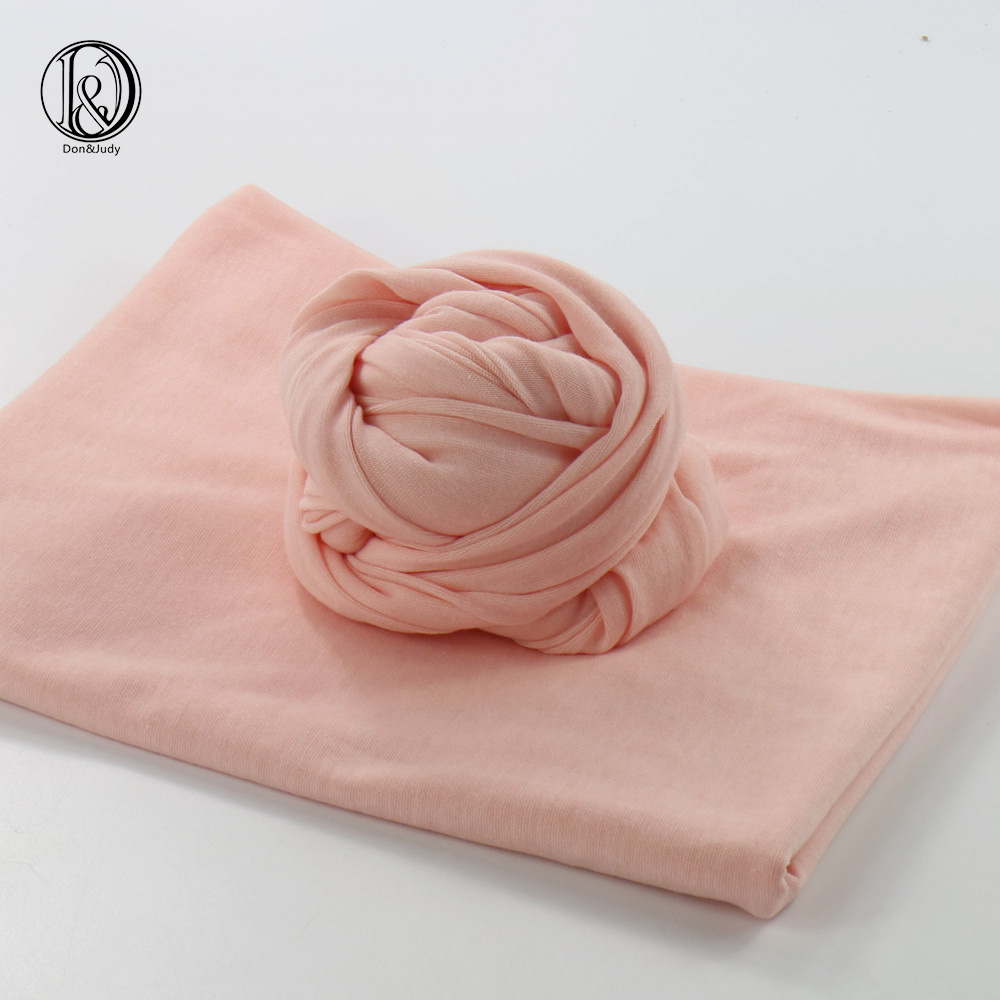 Size 160x40cm Newborn Baby Backdrop Newborn Photography Props Stretch Knit Wraps Baby Shower Gift