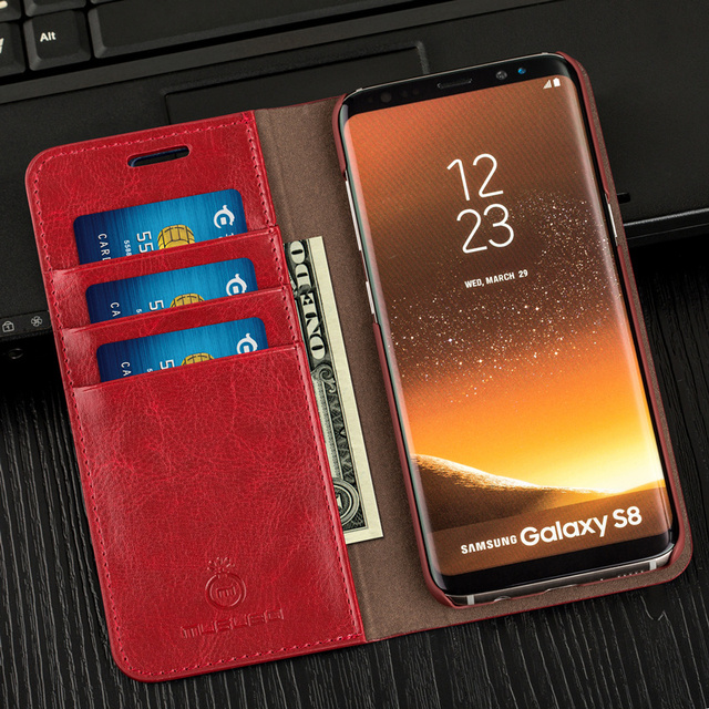 Laumans Luxury Women Wallet Phone Bag Leather Case For iPhone 7 6 6s Plus 5s  Samsung Galaxy S7 Edge S6 S8 Plus Note 5 4 3 Cover e911946af8