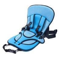 Auto autostoeltje met dikke kussen Draagbare Kussen seat riem carrier voor baby/kinderen Boost Security Autostoel Cover