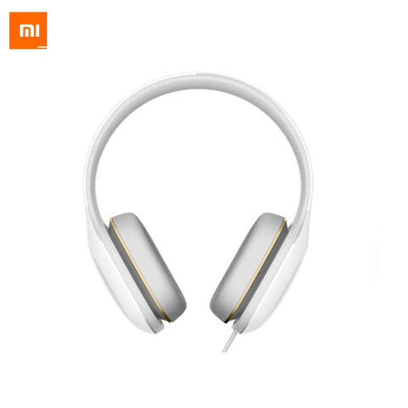 100% Original Headband Xiaomi Mi Headphone Basic Simple And Closed Tune Trope Design Headset Earphone White Color 100% original headband xiaomi mi hifi headphone basic simple and comfortable design headset earphone