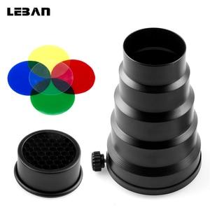Image 1 - Godox sn 02 universele mount snoot honingraat studio flash accessoires professionele voor studio licht fittings