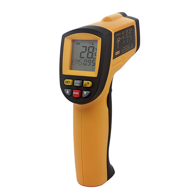 Non-Contact Digital Infrared Laser IR Thermometer GM900 Infrared Temperature Detector -58~1742 fahrenheit 3pcs