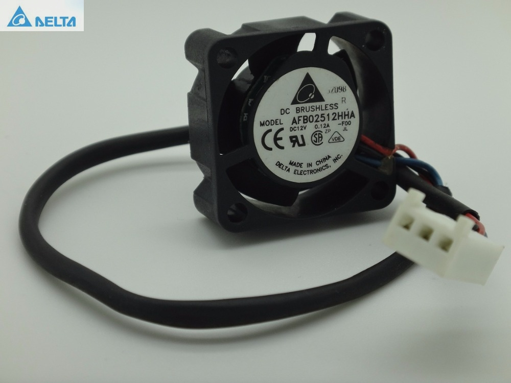 100% New Delta AFB02512HHA 2510 2.5cm 12V 0.12A SUN 370-5126 V240 V210 P / N: 3705126-01 cpu cooler heatsink Fan