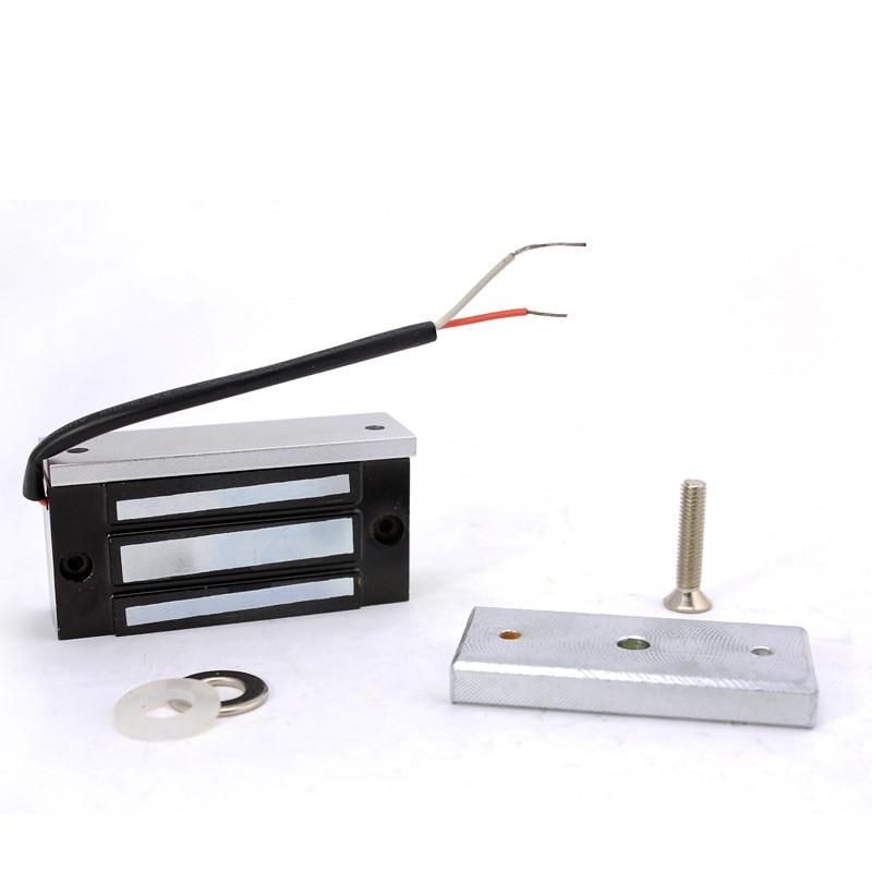 ФОТО Electromagnetic Lock (Mini 100Lbs)Single Electromagnetic lock  for access control