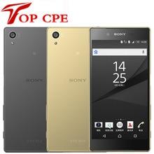 sony Xperia Z5 E6653 rom 32 Гб ram 3G GSM WCDMA 4G LTE 23 Мп Android Восьмиядерный 5,2 дюймов разблокированный мобильный телефон Smartsphone
