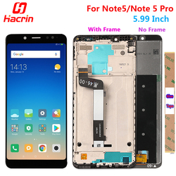 Xiaomi Redmi Note 5 Pro ЖК-дисплей Дисплей Сенсорный экран Тесты хорошее замены дигитайзер Ассамблеи для Xiaomi Redmi Note5 5,99 дюймов