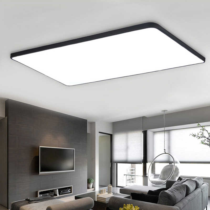 Modern Ceiling Lights Ultra Thin Square Led Ceiling Lamp Luminaria Kitchen Light Fixtures Living Room Dining Room Surface Mount Square Ceiling Lamp Modern Ceilingmodern Ceiling Light Aliexpress