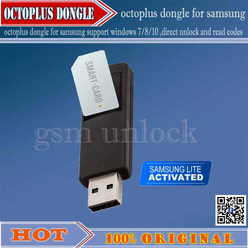 Gsmjustoncct  100% Original Octoplus Dongle LG Lite
