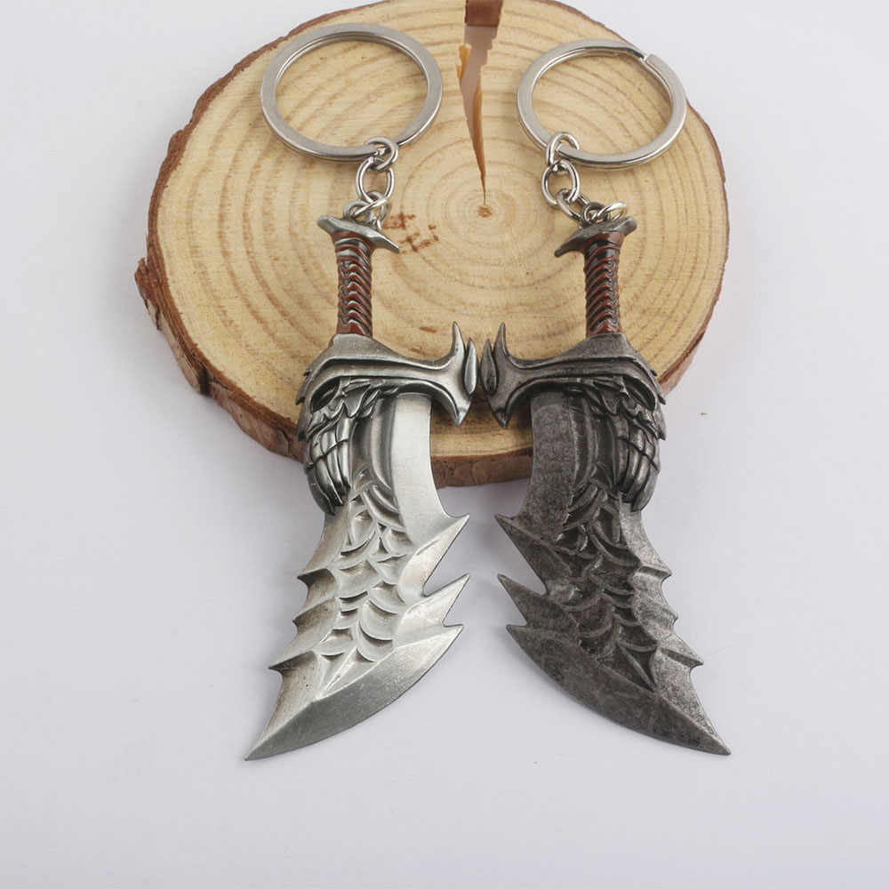 SG Hot New Game God Of Wars 4 Keychains Avenger Thor Hammer Axe Weapon Key  Chains BF4 Battlefield 4 Keyring Men Boy Jewelry