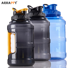 2.5L Wide Mouth Plastic Sport Water Bottle Outdoor Sports La