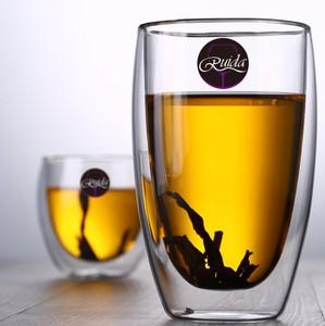 Image 2 - Marque 5 taille sans plomb Double paroi verre fait main résistant à la chaleur thé café boisson tasse isolé verre clair Drinkware