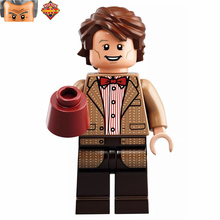Single Sale Ideas Doctor Who Eleventh 11th Dr. w/ Sonic Screwdriver minifig Building Blocks Kids Education Learning Toys