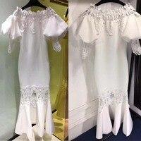2018 летняя Бохо белое платье женский элегантный Wrap Вечерние вечер комод для женщин пикантные jurken винтажная одежда Vestido De Fiesta
