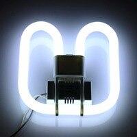 2-pack 2D CFL Kompakten Leuchtstofflampe 4-Pin Basis Ersatz Lampe 22 watt 28 watt 38 watt Verfügbar 6500 karat Weiß