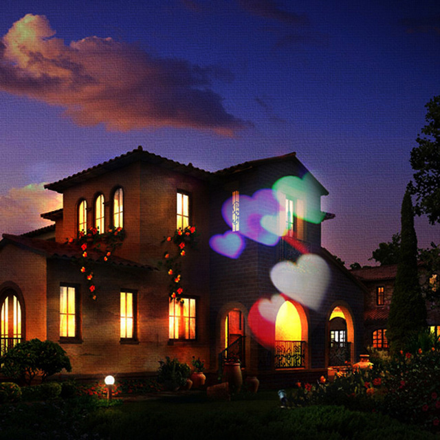 Xl j18 heart shape outdoor projector light ip65 waterproof xl j18 heart shape outdoor projector light ip65 waterproof decorations for garden lawn house christmas mozeypictures Gallery
