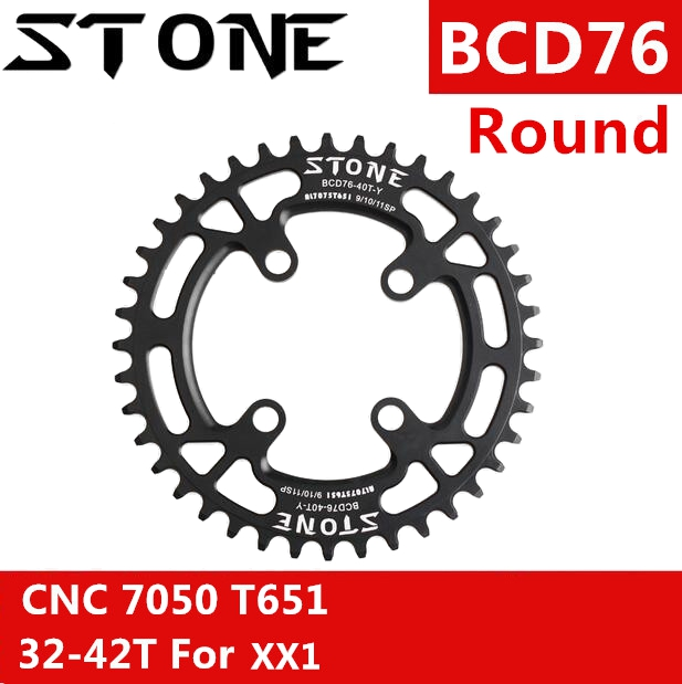 Stone Chainring 76 BCD for Sram Round XX1 EAGLE 32t 34t 36t 38T tooth MTB Bike