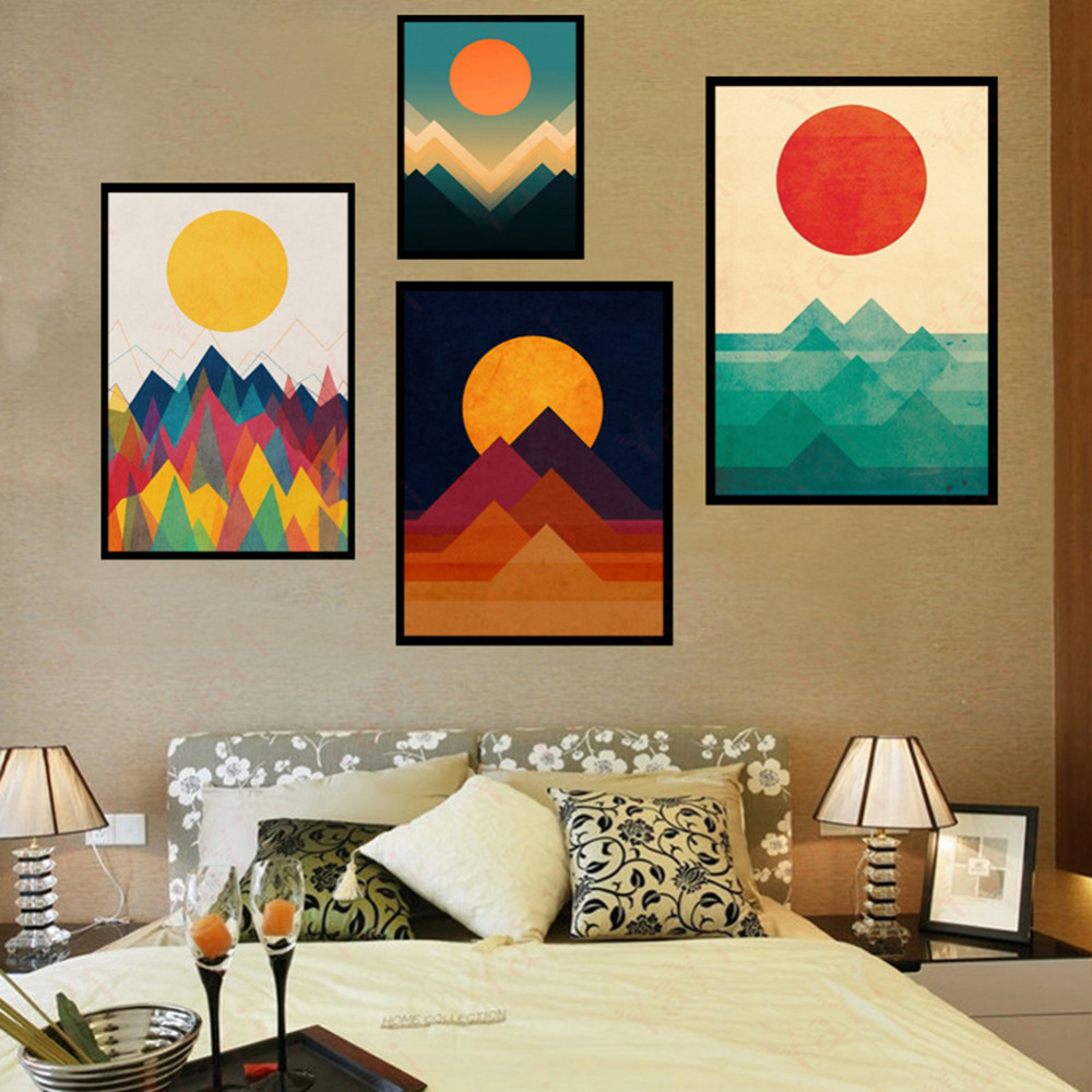 40x50cm Abstract Painting Printed Art Canvas Wall Posters