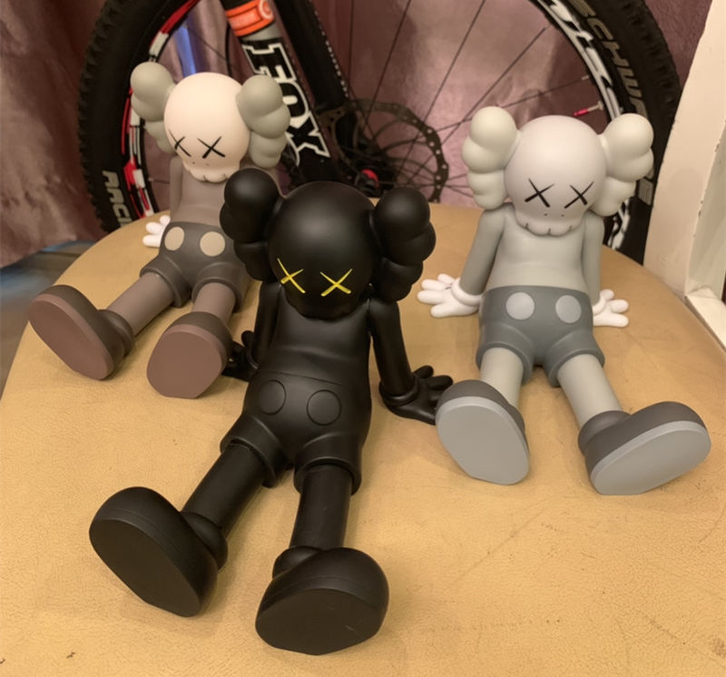 top Toys & Hobbies 20cm Origialfake Kaws Holiday Taipei Limited Sitting Doll 5yl Years Later Companion Action Figure Collection Model Pure And Mild Flavor