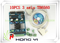 10PCS 3 Axis TB6560 3 5A CNC Engraving Machine Stepper Motor Driver Board 16 Segments Stepper
