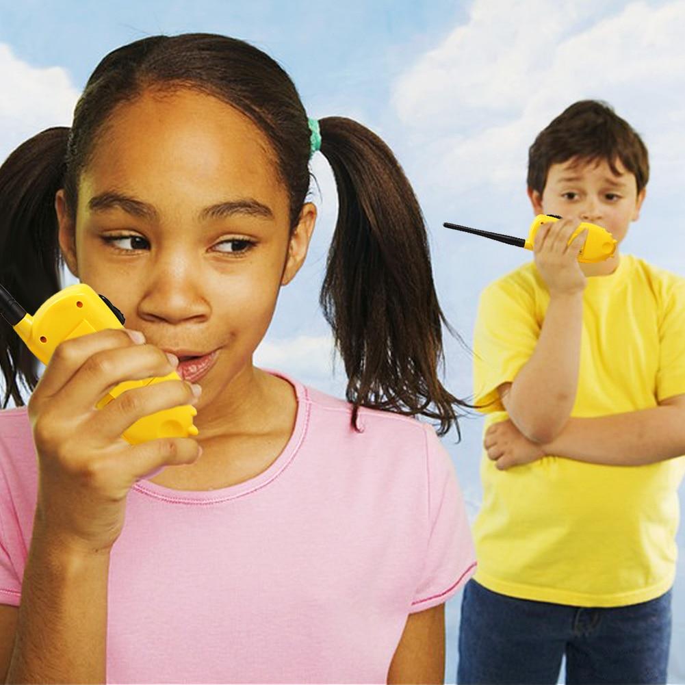Children Educational Walkie Talkie Games Talkie-walkie Toys Yellow Handheld Walkie Talkies Toy kids Cute kids Radio Cute Toys