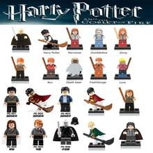 Harry Potter Lord Voldemort Única Venda Figuras de Ação Hermione Granger Ron Venda Quente Blocos de Draco Malfoy Presente Brinquedos para crianças