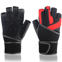 Body Building Training Sports Fitness WeightLifting Gloves Men Women Custom Fitness Exercise Training Gym Gloves Half Finger
